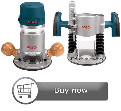 Bosch 12 Amp Combination Horsepower Plunge Router Kit
