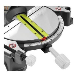 Horizontal D-Handle on a Ryobi ZRTS1345L